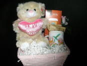 MOTHER'S DAY SMALL I LOVE YOU BEAR W/ STARBUCKS