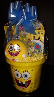 SPONGEBOB  SQUAREPANTS  EASTER  BASKET