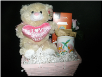 MOTHER'S DAY SMALL I LOVE YOU BEAR W/ STARBUCKS (SKU: 027)