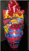 SPIDER-MAN/BATMAN  EASTER  BASKET (SKU: 037)